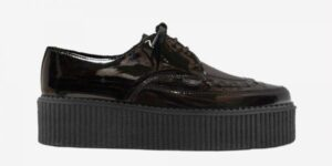 Underground Original barfly Creeper black patent leather for men and women