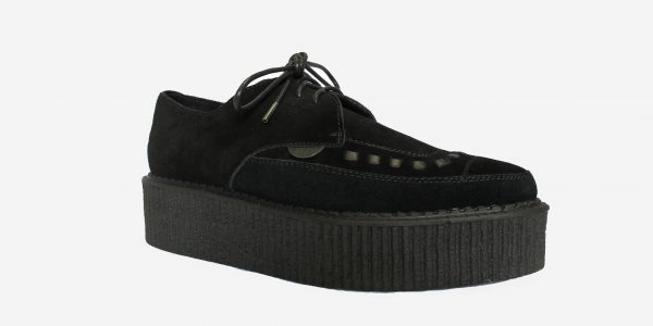 double sole suede barfly