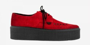 Underground Original barfly Creeper red suede for men and women