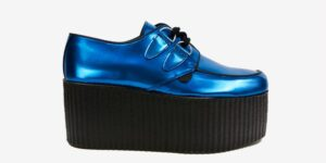 Underground Original Wulfrun Creeper sky blue leather for men and women