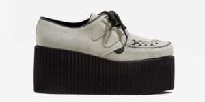 Underground Original Wulfrun Creeper suede leather beige shoe for men and women