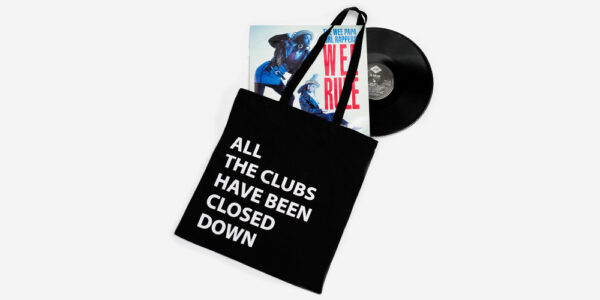 UNDERGROUND ENGLAND THE SPECIALS ALL THE CLUBS HAVE BEEN CLOSED DOWN BLACK TOTE BAG FOR MEN AND WOMEN