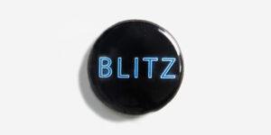 Underground England Blitz button badge