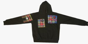 HOODY WITH MACBETH TARTAN