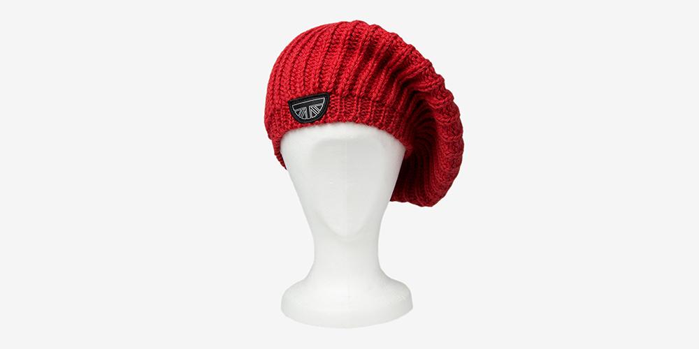 British Wool red beret UNDERGROUND
