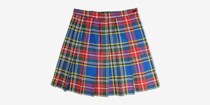 Underground England Woodside pleated mini skirt macbeth tartan for men and women