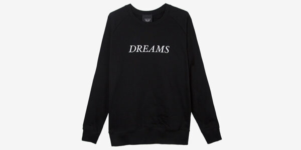 Underground England DREAMS SWEATSHIRT / THESE ARE THE THINGS THAT DREAMS ARE MADE OF – BLACK and white for men and women