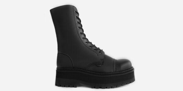 STEEL CAP BOOT - Vegan Leather