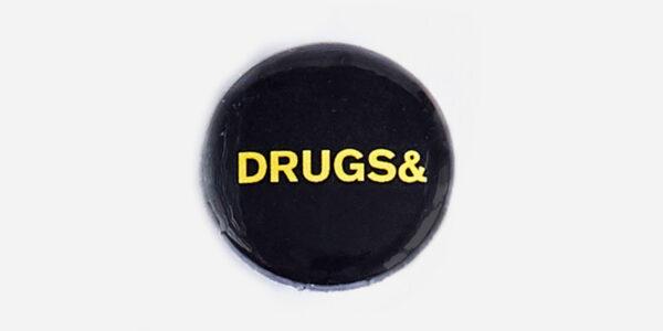 Underground England Multicoloured Pin Badge Set Sex&Drugs&Rock&roll