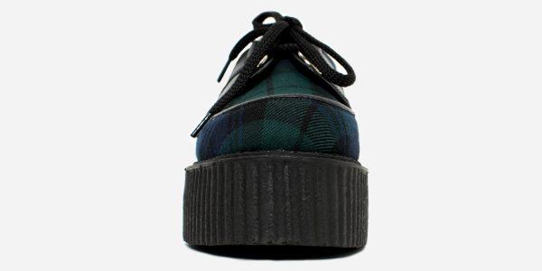 Underground Original Wulfrun Creeper Black Watch Tartan shoe for men and women
