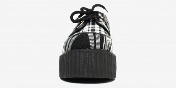 Underground Original Wulfrun Creeper Menzies Tartan shoe for men and women