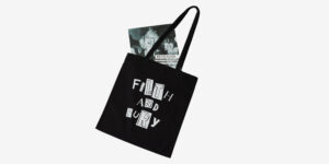 UNDERGROUND ENGLAND TOTE BAG FILTH AND FURY BLACK FOR MEN AND WOMEN