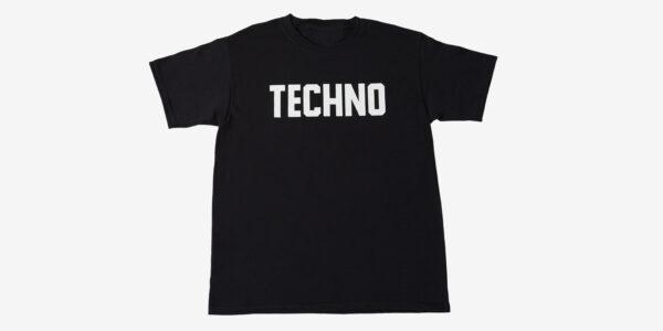TECHNO T SHIRT - BLACK