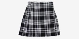 Underground England Authentic tartan royal stewart pleated midi skirt menzies tartan for men and women