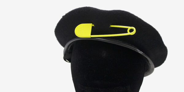 UNDERGROUND OVERSIZE SAFETY PIN – YELLOW JEWELLERY ACCESSORIES FOR MEN AND WOMEN