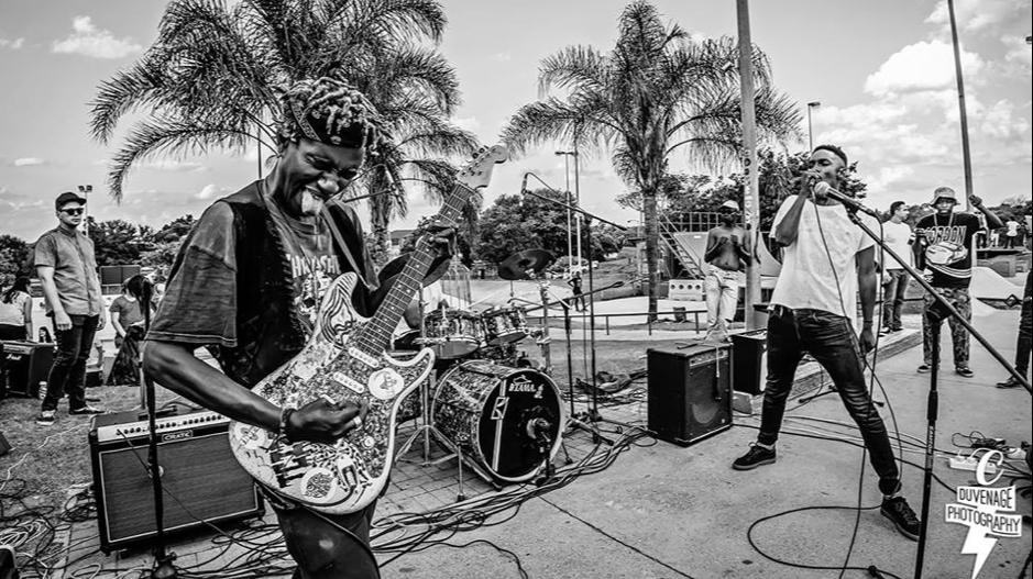 Africa Heavy Metal Punk Scene