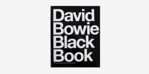 UNDERGROUND ENGLAND BOOKS DAVID BOWIE: BLACK BOOK BY CHRIS & MILES CHARLESWORTH