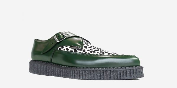 GREEN LEOPARD POINTED CREEPER
