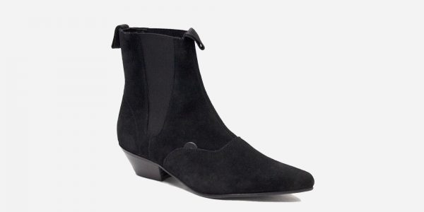 Underground England Freddy Black Suede boot for men and women