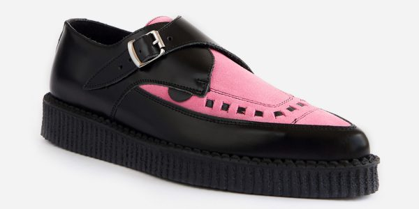 black and pink creeper
