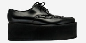 UNDERGROUND BARFLY CREEPER - BLACK LEATHER - TRIPLE SOLE - CUSTOM MADE SHOES FOR MEN AND WOMEN