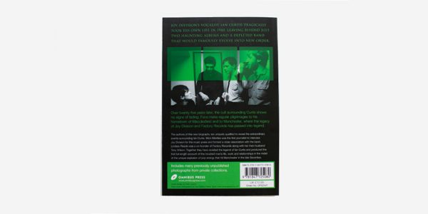 UNDERGROUND ENGLAND BOOKS TORN APART: THE LIFE OF IAN CURTIS BY MICK MIDDLES AND LINDSAY READE