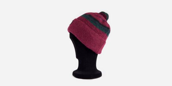 UNDERGROUND LINDSAY WOOLLEN TURN-UP BOBBLE HAT FOR MEN AND WOMEN
