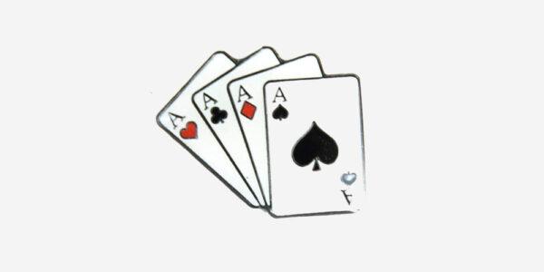 CARDS ENAMEL BADGE/ METAL PIN BADGE
