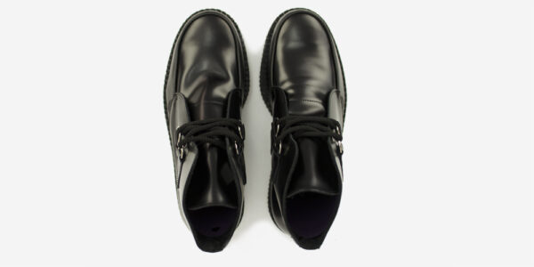UNDERGROUND ORIGINAL WULFRUN CREEPER BOOT – BLACK LEATHER – BOOTS FOR MEN AND WOMEN