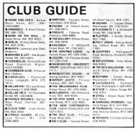 Underground Club Guide