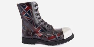 UNION JACK STEEL CAP BOOT