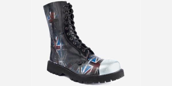 union jack steel cap boot