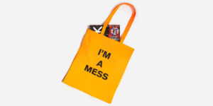 I'm a mess bag orange
