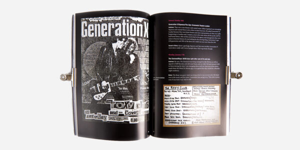 UNDERGROUND ENGLAND BOOKS THE ROXY OUR STORY: THE CLUB THAT FORGED PUNK IN 100 NIGHTS OF MADNESS MAYHEM & MISFORTUNE BY ANDREW CZEZOWSKI