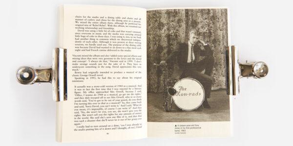UNDERGROUND ENGLAND BOOKS STRANGE FASCINATION: DAVID BOWIE THE DEFINITIVE STORY BY DAVID BUCKLEY