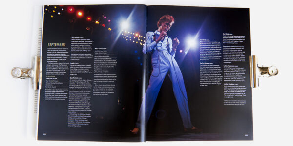 UNDERGROUND ENGLAND BOOKS DAVID BOWIE: THE GOLDEN YEARS BY ROGER GRIFFIN