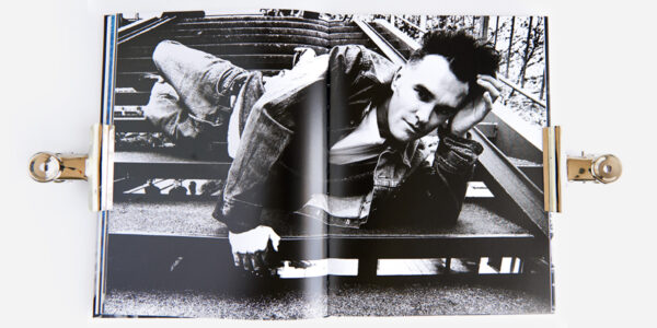 UNDERGROUND ENGLAND BOOKS MORRISSEY: ALONE AND PALELY LOITERING BY KEVIN CUMMINS