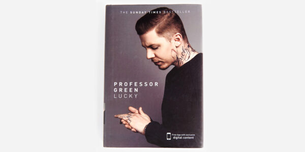 UNDERGROUND ENGLAND BOOKS LUCKY BY PROFESSOR GREEN AND MAX LEONARD