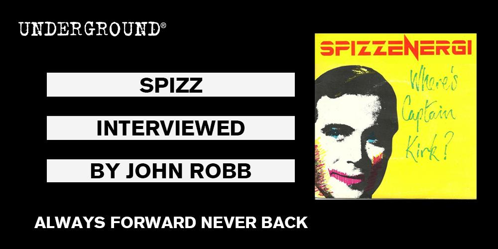 SPIZZ Always Forward Never Back