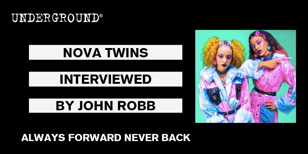 Nova Twins Always Forward Never Back