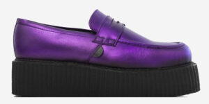 purple loafer