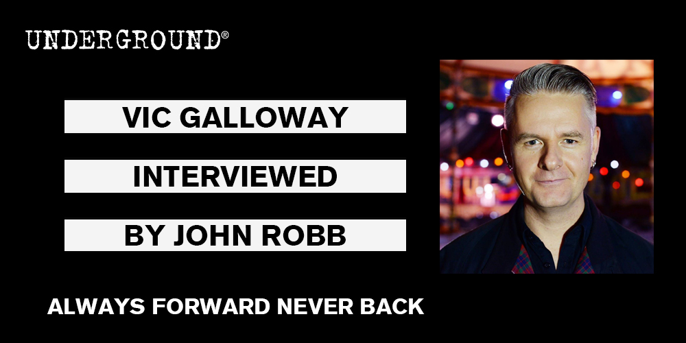VIC GALLOWAY always forward never back