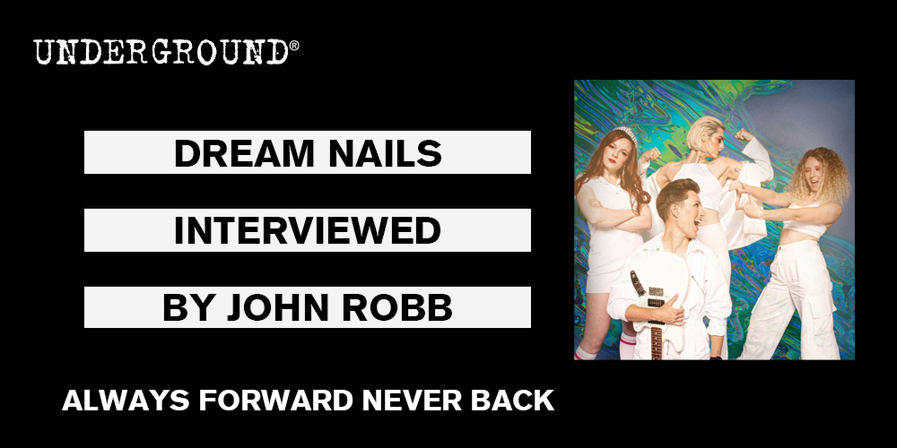 dream nails always forward never back