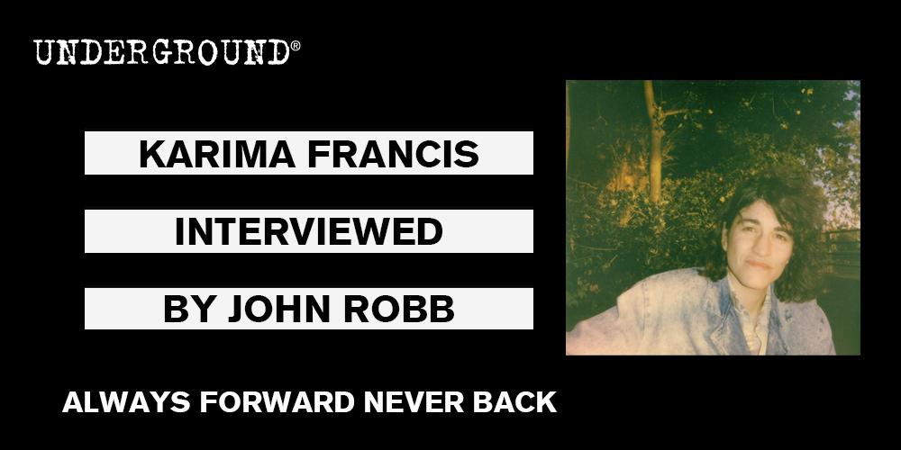 karima francis always forward never back