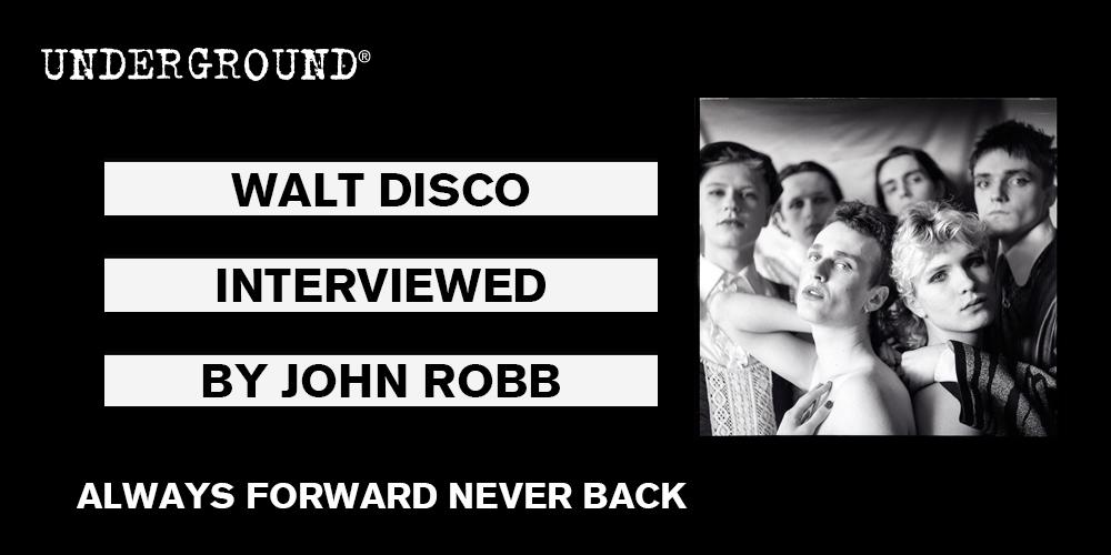 walt disco always forward never back