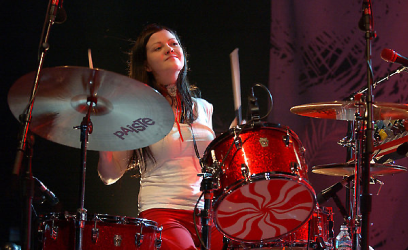 meg white influential drummers