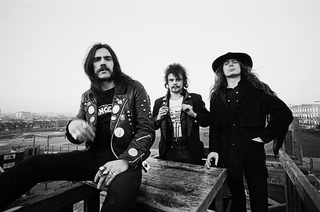 motorhead ace of spades Fin Costello