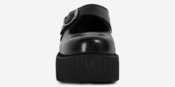 Original Underground Mary Jane Black Leather Shoe for Men and Women