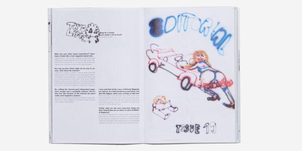 UNDERGROUND BOOKS TISSUE MAGAZINE No. 4