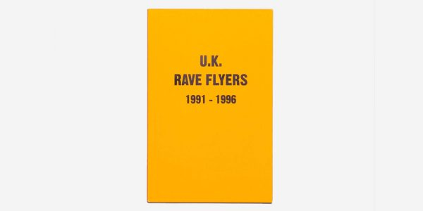 BK-399 BOOK UK RAVE FLYERS